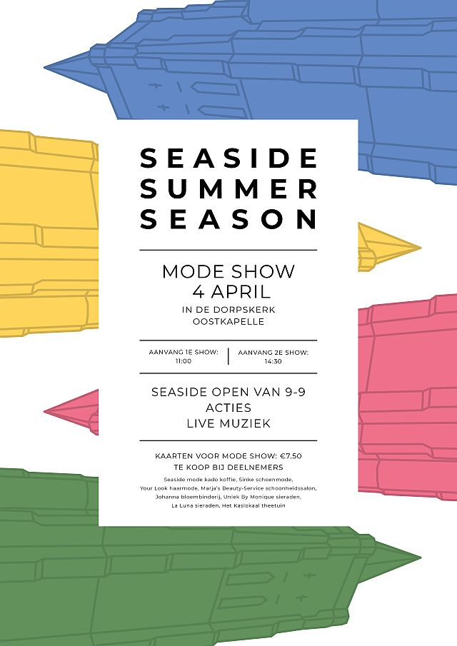 Modeshow Seaside Oostkapelleapril 2020